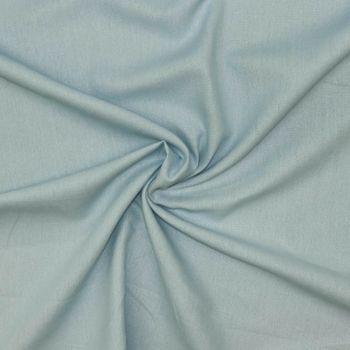 Leinenstoff Dekostoff einfarbig blau 1,4m Breite – Bild 1