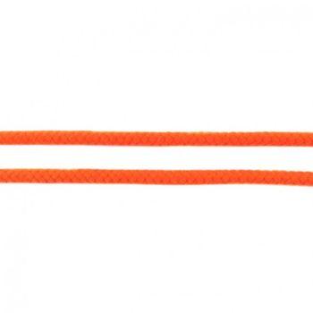 Baumwoll Kordel Zierband orange Breite: 8mm