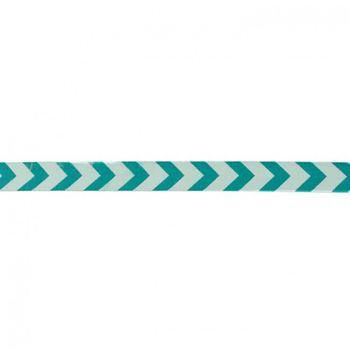 Band Polyester Pfeile mint petrol Breite: 1,5cm