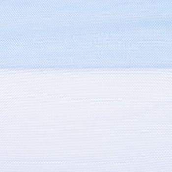 Tüll weich Brauttüll hellblau 1,6m Breite