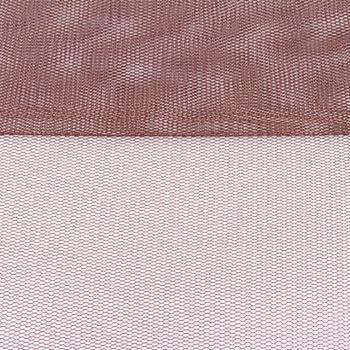 Tüll weich Brauttüll schokobraun 1,6m Breite