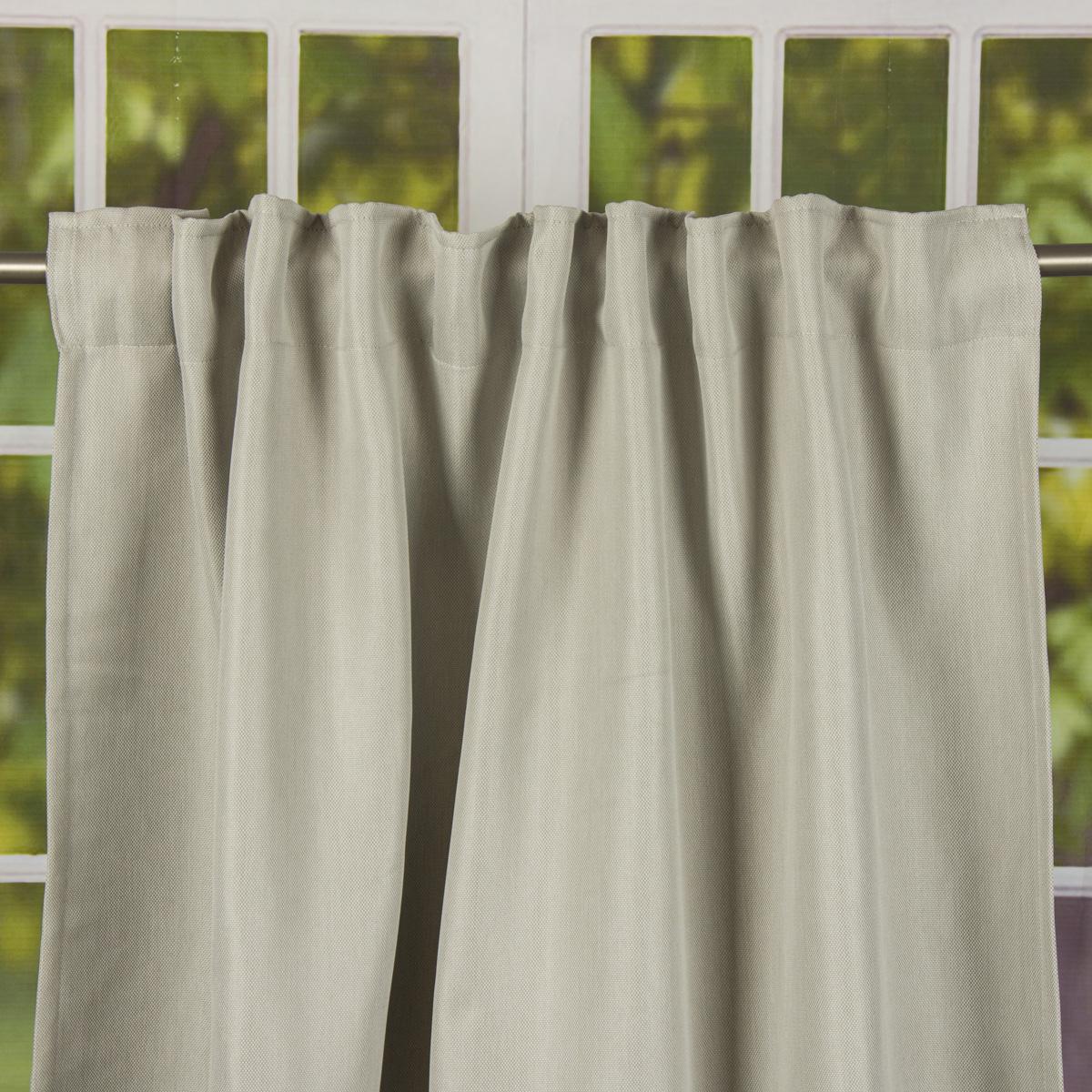 fertiggardine verdunklungsvorhang galdin mit verdeckten schlaufen beige uni 140x245cm gardinen. Black Bedroom Furniture Sets. Home Design Ideas