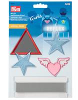 Prym Applikation REFLEX Girls 5 Stück 001