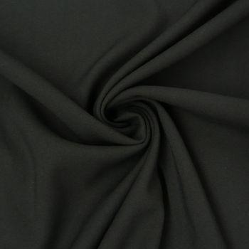 Bekleidungsstoff Viskose-Jersey Rosella uni schwarz 1,40m Breite