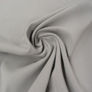 Bekleidungsstoff Viskose-Jersey Rosella uni grau 1,40m Breite