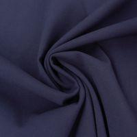 Bekleidungsstoff Viskose-Jersey Rosella uni dunkelblau 1,40m Breite
