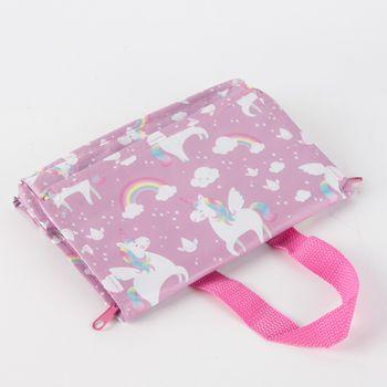 Tasche Kühltasche Regenbogen Einhorn aus recycelten Material 21x16cm – Bild 5