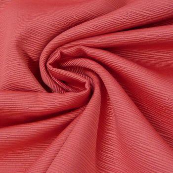 Tischdeckenstoff Tischwäsche einfarbig geriffelt rot 2,80m Breite – Bild 1