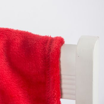 Mikrofaserdecke Kuscheldecke Plaid Justin rot 150x200cm – Bild 4
