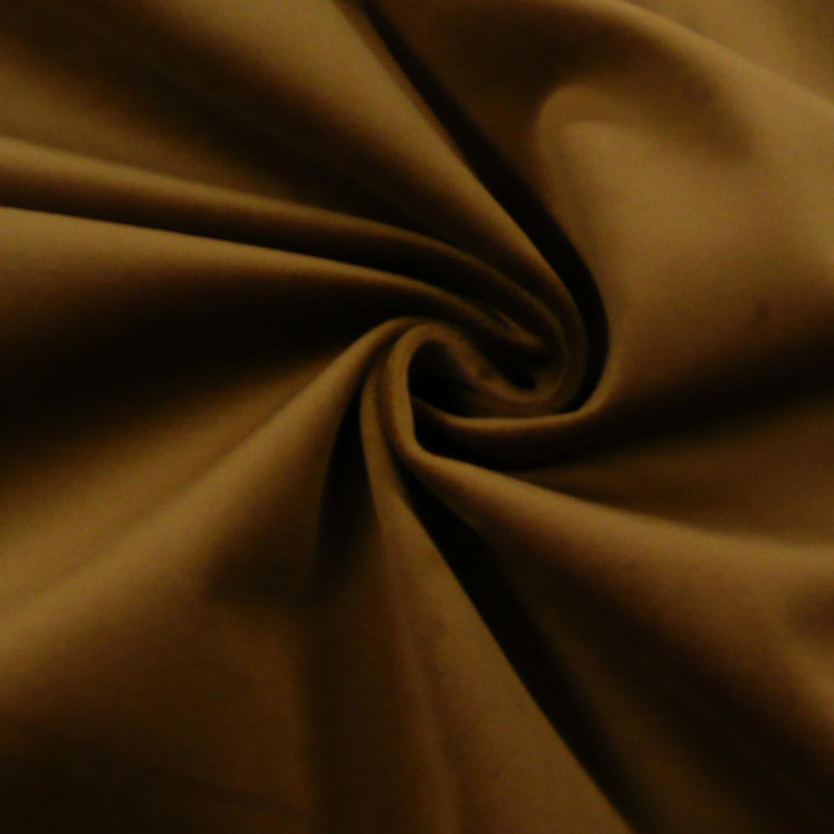 Möbelstoff Polsterstoff Bezugstoff Samtstoff Samt cognac braun 1,40m breit