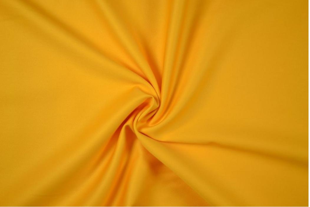 Bekleidungsstoff Baumwollstoff Köper gelb 1,4m Breite