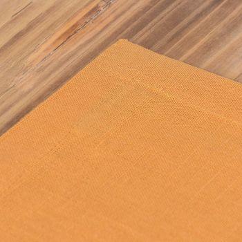 Leinen-Tischset Platzset Erik 1-lagig 37x50cm dunkelgelb ocker  – Bild 4