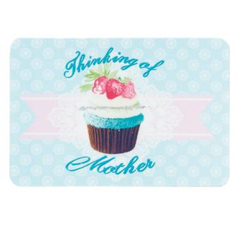 Clayre & Eef Magnet THINKING OF 9x6cm