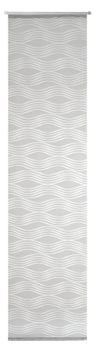 Schiebevorhang Flächenvorhang Scherli DONNA Wellen grau weiß 245x60cm – Bild 9