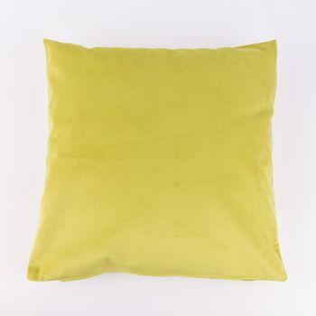 Kissenhülle Duval Samtkissen grün 50x50cm – Bild 1