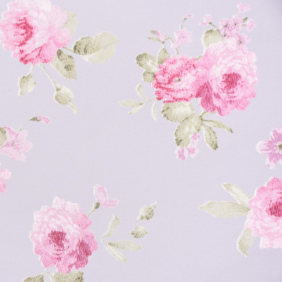 gardinenstoff dekostoff organza pfingstrosen klein wei rosa gr n 2 8m h he gardinenstoffe. Black Bedroom Furniture Sets. Home Design Ideas