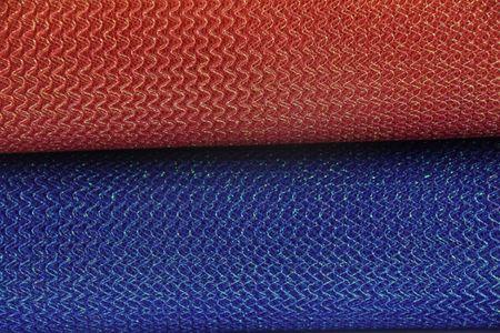Faschingsstoff Tüll Glitzertüll rot Glitzer 1,5m Breite – Bild 4