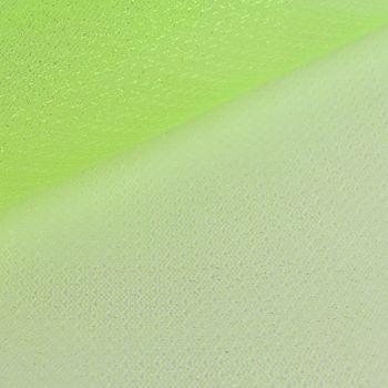 Faschingsstoff Tüll Glitzertüll grün Glitzer 1,5m Breite – Bild 3