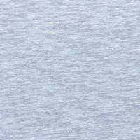 Baumwoll/Leinen-Jersey Slub-Jersey einfarbig hellgrau 1,5m Breite