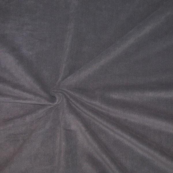 polar fleece stoffe fleecestoff anthrazit alle stoffe stoffe uni fleece. Black Bedroom Furniture Sets. Home Design Ideas