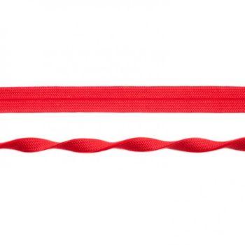 Schrägband elastisch Gummi rot Breite: 2cm