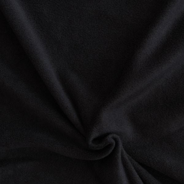 polar fleece stoffe fleecestoff schwarz stoffe stoffe uni fleece. Black Bedroom Furniture Sets. Home Design Ideas