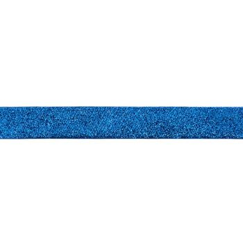 Band Glitzer blau Breite: 2,5cm – Bild 1