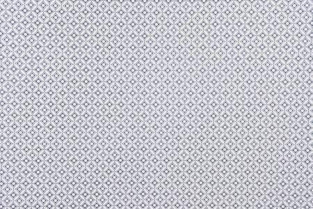 Dekostoff Raute Kreise grau natur – Bild 4