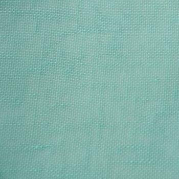 Gardinenstoff Stores mit Bleiband Line azur blau türkis Höhe 3 Meter – Bild 4