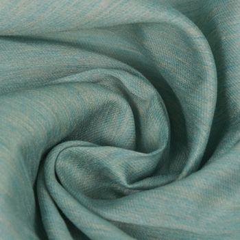Dekostoff Gardinenstoff aqua meliert 150cm breit – Bild 1