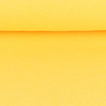 Sweatstoff einfarbig gelb meliert 1,5 m Breite – Bild 4
