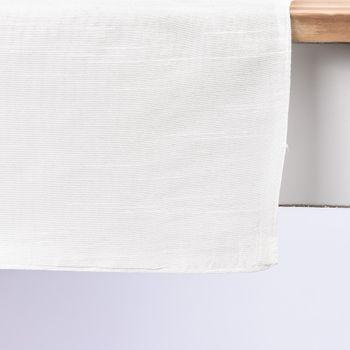 Tischläufer DOVA weiß 45x150cm