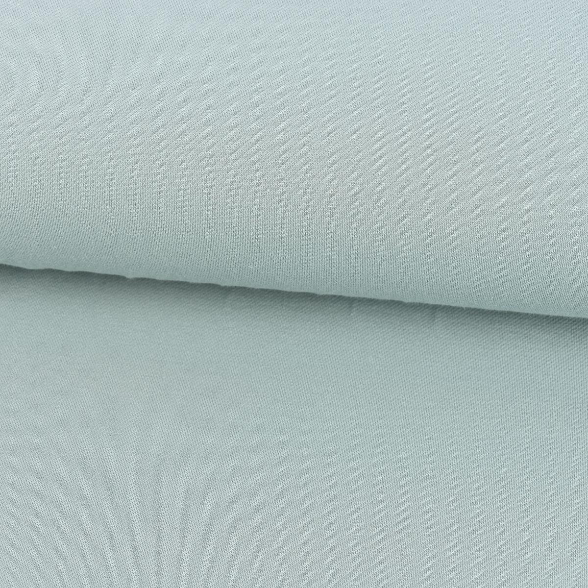 Baumwoll-Jeansstoff mit Elasthan Stretchjeans-Stoff weich einfarbig mint 1,5m Breite