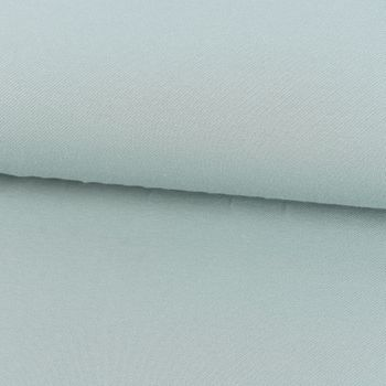 Baumwoll-Jeansstoff mit Elasthan Stretchjeans-Stoff weich einfarbig mint 1,5m Breite – Bild 1