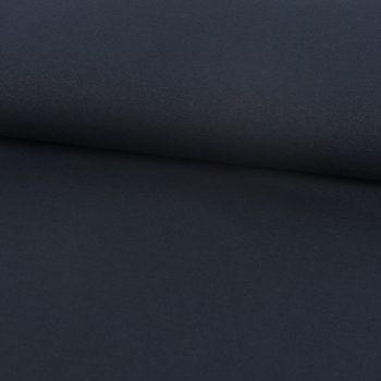 Baumwoll-Jeansstoff mit Elasthan Stretchjeans-Stoff weich einfarbig navy blau 1,5m Breite – Bild 1