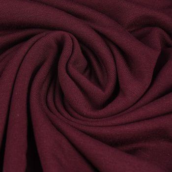 Bekleidungsstoff elastisch Modal einfarbig beere – Bild 1