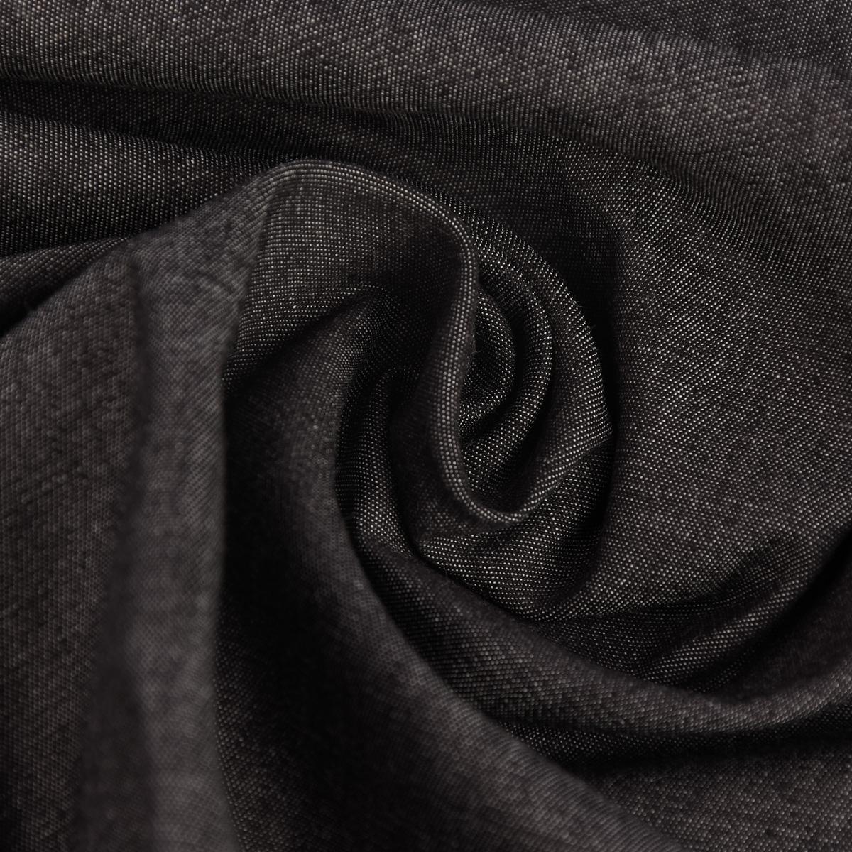 Sommer-Jeansstoff Jeans Denim 4,5OZ schwarz 1,4m Breite