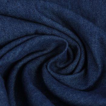 Sommer-Jeansstoff Jeans Denim 4,5OZ indigo blau 1,4m Breite – Bild 1