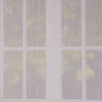Dekostoff Gardinenstoff Stores Leinenoptik creme mit Bleiband dickeres Längsgarn 300cm Breite – Bild 1