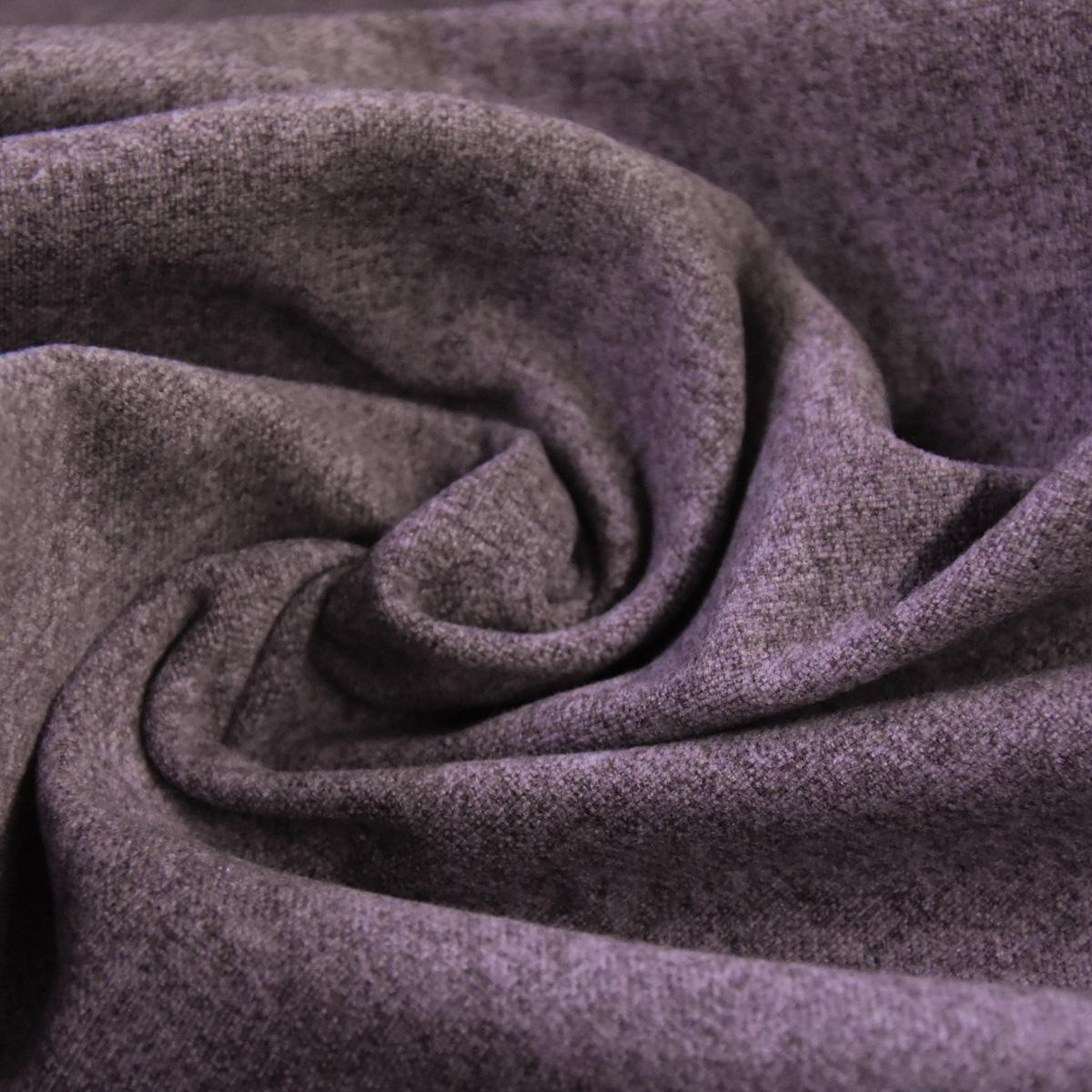 Bezugsstoff Möbelstoff Polsterstoff mit Vliesrücken MASADA einfarbig lila