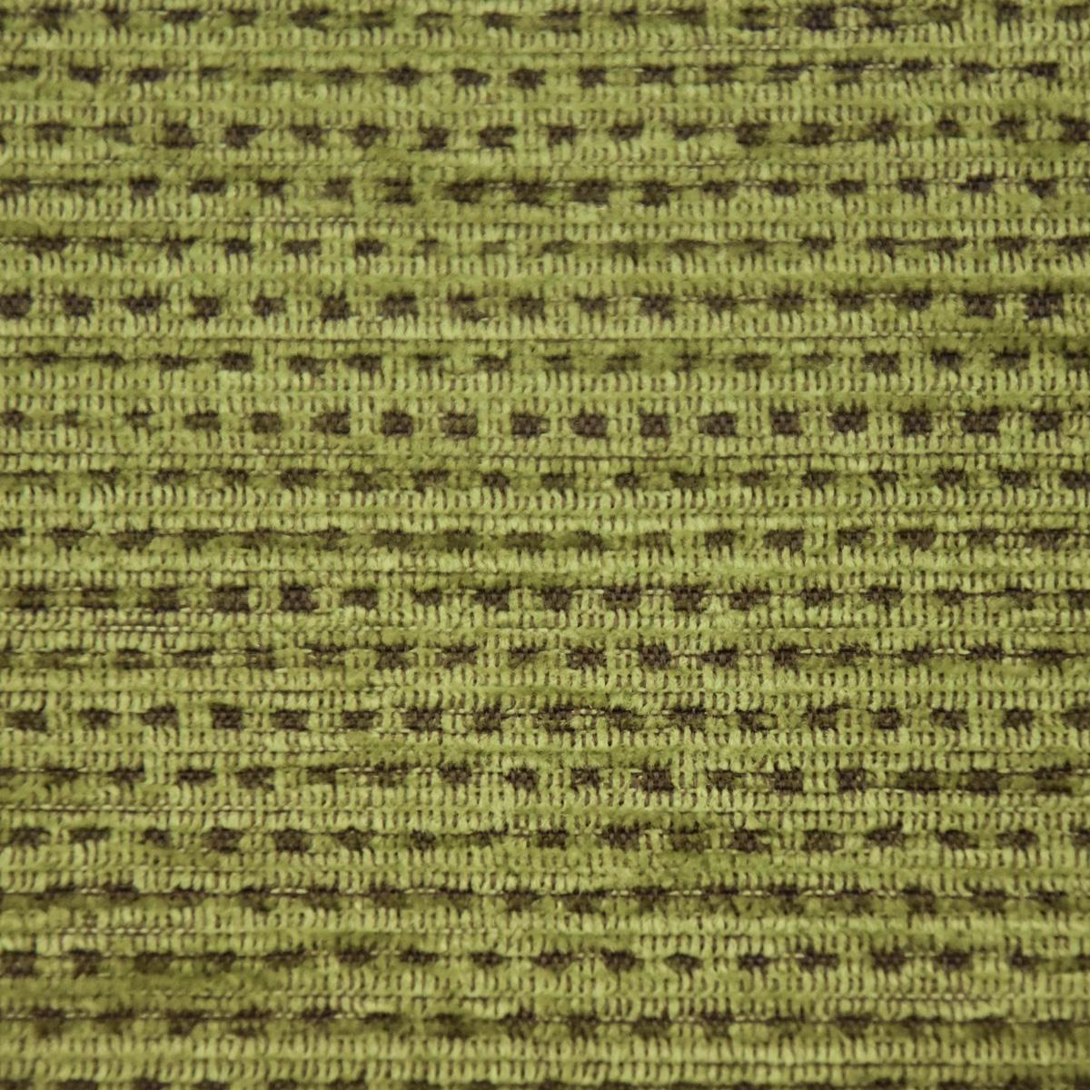 Möbelstoff Bezugsstoff WALLDORF Streifen grün braun