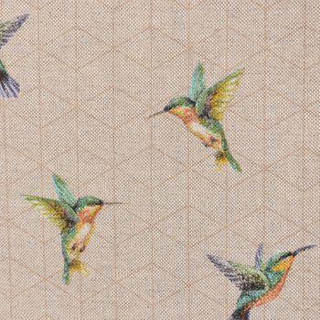 SCHÖNER LEBEN. Tischläufer Kolibri natur 40x160cm – Bild 4