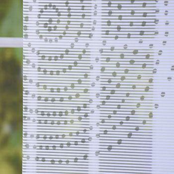 Schiebevorhang Flächenvorhang Flächenschal Paneel Digitaldruck Kreise mint 60x260cm – Bild 3