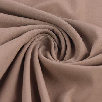 Bekleidungsstoff Viskose-Jersey Rosella uni taupe 1,40m Breite – Bild 1