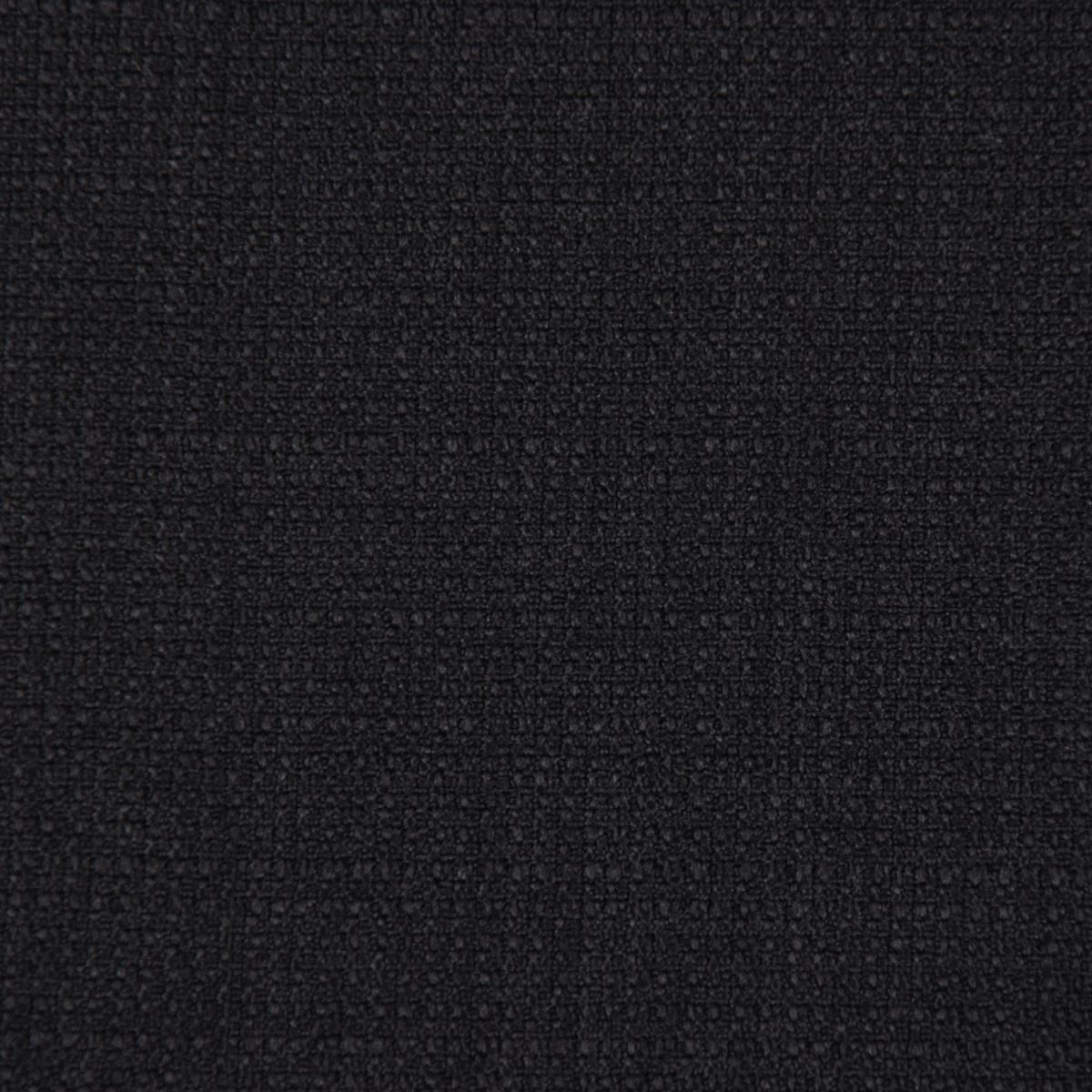 f9a18f268785 Gardinenstoff Universalstoff Dekostoff Strukturstoff einfarbig schwarz  1,48m Breite
