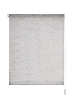 Rollo Stoffrollo Kettenzugrollo Klemmrollo Streifenoptik grau 40x140cm – Bild 1