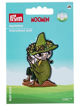 Prym Applikation Bügelbild Schnupferich grün 6,5x4cm