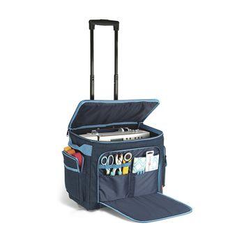 Prym Nähmaschinen Trolley Tasche Jeans blau 44x22x36cm – Bild 10