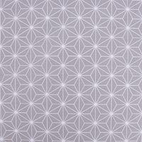 Baumwollstoff CASUAL Stern Motiv grau weiß 1,5m Breite 001