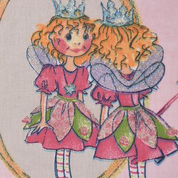 Villa Coppenrath Lillifee Dekostoff Baumwollstoff Gardinenstoff Meterware rosa 140cm – Bild 4